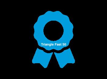 Triangle Fast 50 award