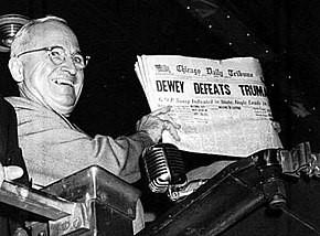 aml Truman hearing the good news. Picture: Wikipedia